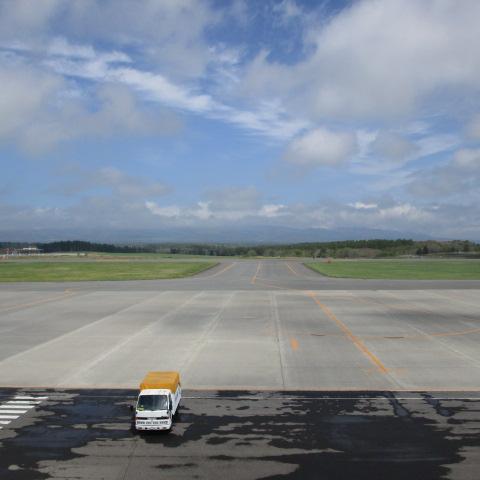 今日の中標津空港です。