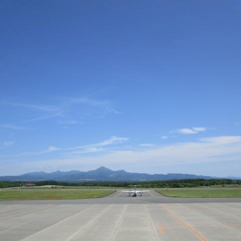 오늘의 나카시베쓰 공항