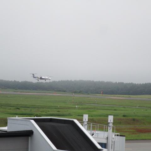 早上好。是中标津机场。